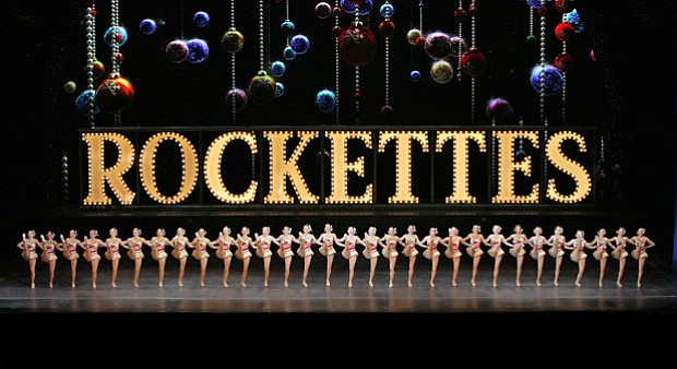 As the stars of this legendary holiday production, the Rockettes (pictured) s...