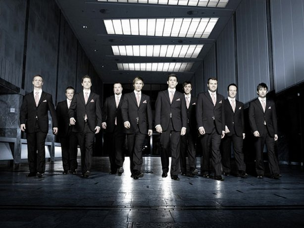 The Ten Tenors: Luke Kennedy, Benjamin Clark, Steven Sowden, Dominic Smith, T...