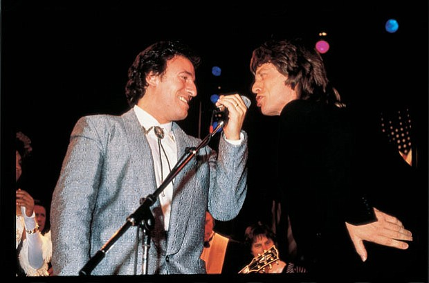 Bruce Springsteen and Mick Jagger.