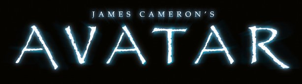 "The logo for ""James Cameron's Avatar"""