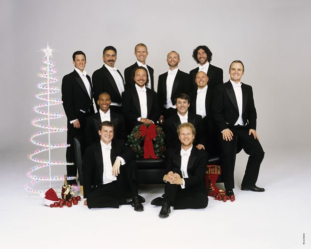 Chanticleer, the 12-voice San Francisco-based men's choir: Michael McNeil, Al...