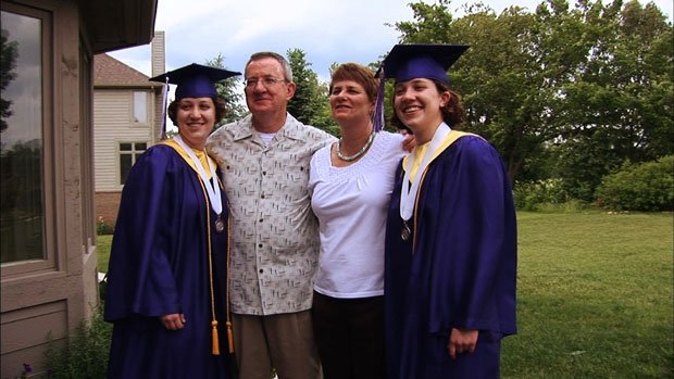 The Davies family featured in