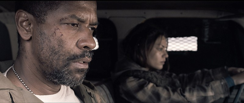 Denzel Washington and Mila Kunis star in