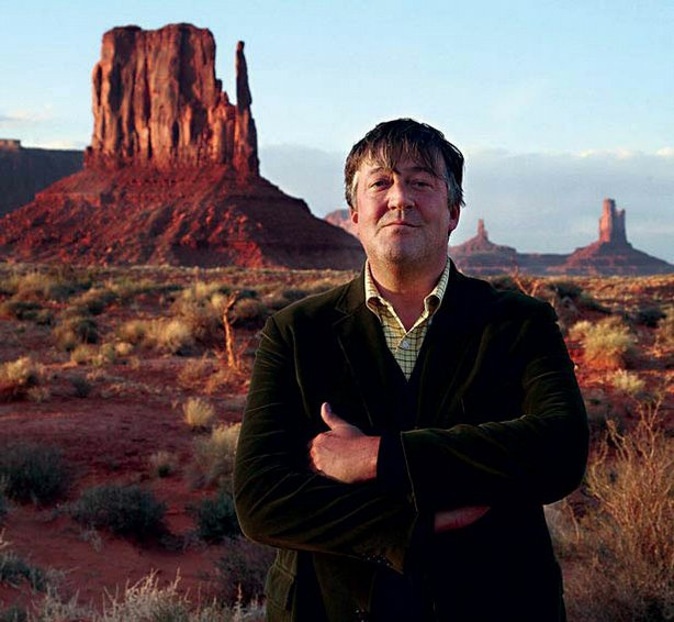 Stephen Fry visits Monument Valley, Arizona on his journey across America.
