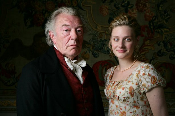 A lavish new adaptation of one of Jane Austen's most popular novels stars Michael Gambon (left) as Mr. Woodhouse and Romola Garai as Emma.