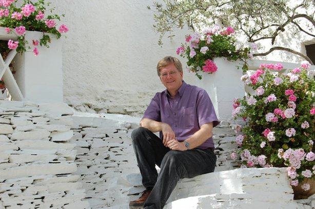 Rick Steves, enjoying the shade in Salvador Dali's back yard, introduces us to more of the best of Europe with his all-new series.