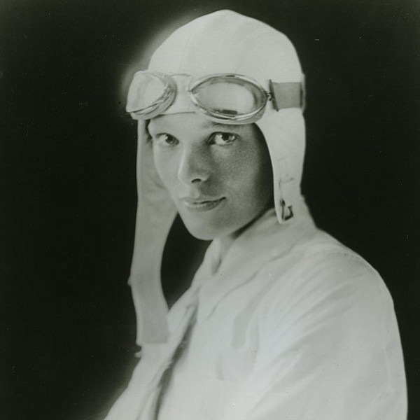 Amelia Earhart, the first woman to fly solo across the Atlantic. But on July ...