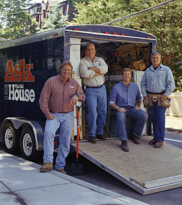 """Ask This Old House"" features some familiar faces, including landscape contractor Roger Cook, plumbing and heating expert Richard Trethewey, Kevin O'Connor, and general contractor Tom Silva."