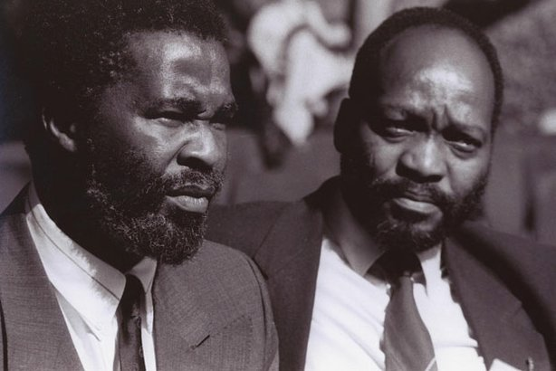 Over two tumultuous decades, South Africa has finally arrived on its own bumpy road to democracy. This program presents a previously untold account of the country's political problems, struggles and realities. Pictured: Thabo Mbeki (left) and Jacob Zuma.