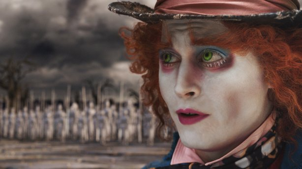 "Johnny Depp in ""Alice in Wonderland"""