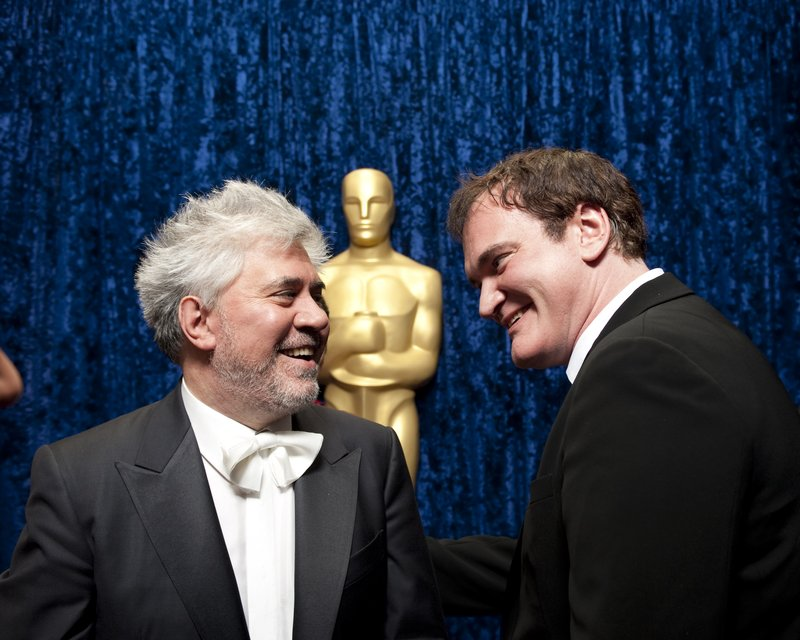 Pedro Almodovar and Quentin Tarantino were presenters for the Best Foreign La...