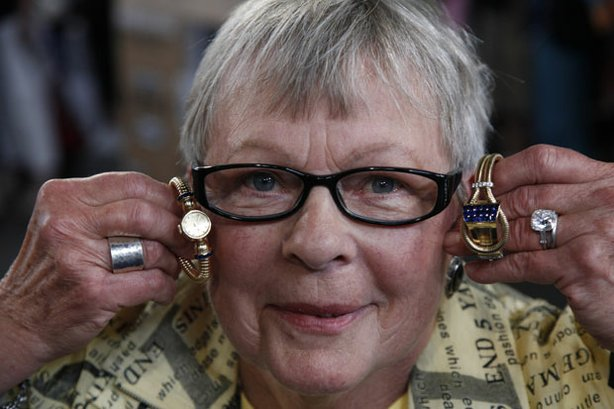 "At ""Antiques Roadshow"" in Denver, Colorado, this guest brings in a collection of four watches inherited from her husband's great-aunt. Appraiser Kevin Zavian explains that the watches were made by 20th-century ""Jeweler to the Stars"" Paul Flato and are valued at $15,000 to $20,000. But what really has Zavian excited is the guest's old mine cushion cut diamond ring, adding $200,000 to $250,000 to the value of her collection!"