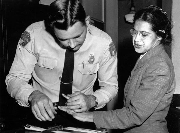 Rosa Parks' refusal to give up her seat helped launch the Montgomery bus boyc...