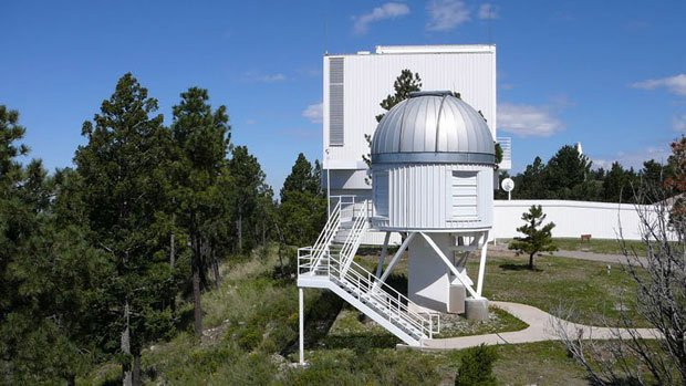 The Apache Point Observatory near Cloudcroft, New Mexico, is home of the Sloa...