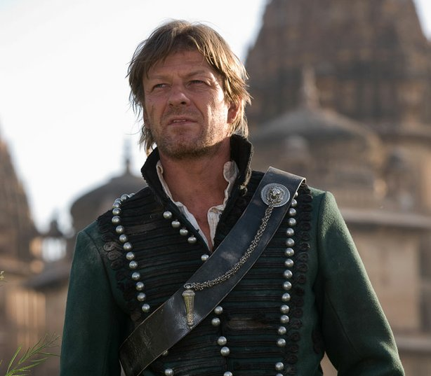 "Soldier-adventurer Richard Sharpe (Sean Bean, ""The Lord of the Rings"") comes ..."