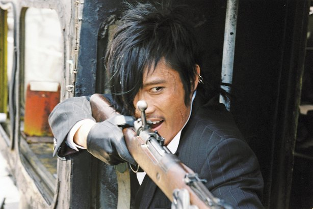 "Lee Byung-Hun as Chang-Yi in ""The Good The Bad The Weird"" directed by Kim Jee..."