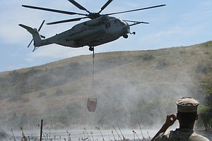 Military Works With CAL FIRE To Prepare For Aerial Firefighting