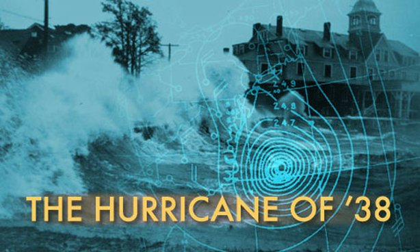 "Promotional graphic for the program ""The Hurricane Of '38."""