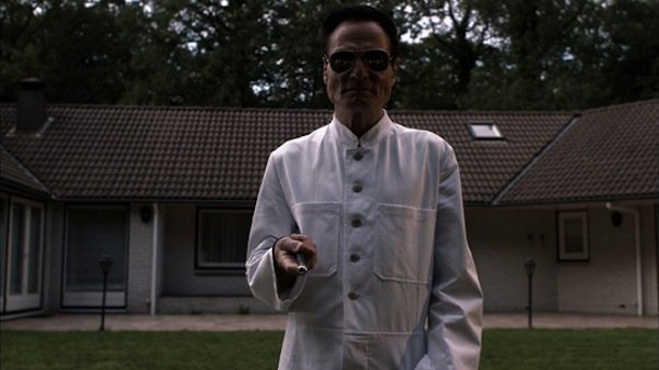 "Dieter Laser as Dr. Heiter in ""The Human Centipede"""