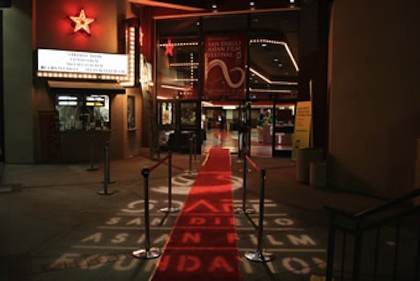 The San Diego Asian Film Festival at the UltraStar Mission Valley Theatres at Hazard Center.
