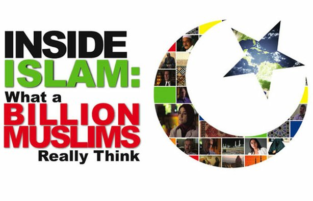 "Title graphic for ""Inside Islam: What a Billion Muslims Really Think,"" a new ..."