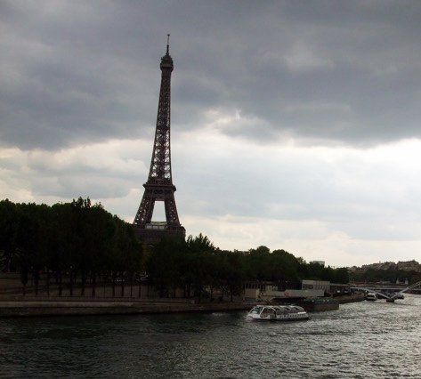 Scott Paulson is practically living under the Eiffel Tower during his stay in Paris for the Black France Film Festival.