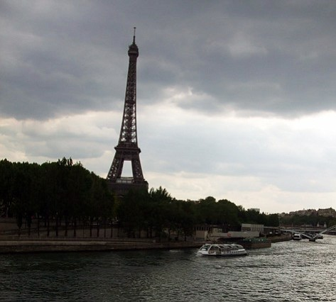Scott Paulson is practically living under the Eiffel Tower during his stay in...