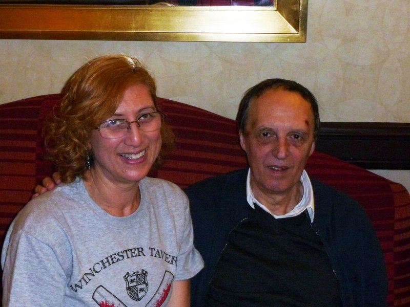 Starstruck! I met Dario Argento in the hallway outside the screening room at ...