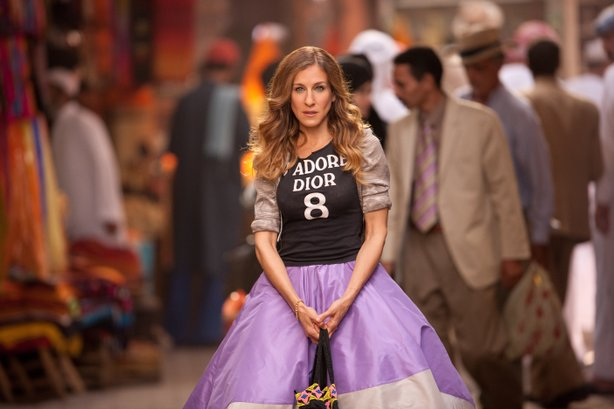 "Sarah Jessica Parker returns as Carrie in ""Sex and the City 2"""