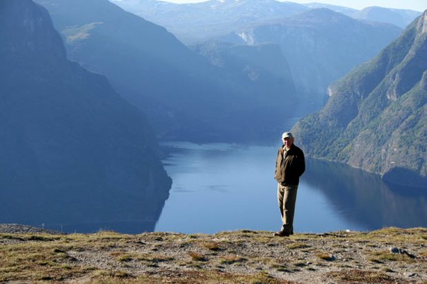 "Richard Bangs in Sognefjord. In his latest ""Adventures With Purpose"" special,..."