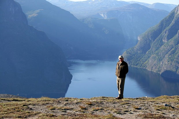 Richard Bangs in Sognefjord. In his latest