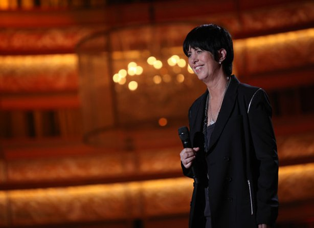 "Diane Warren on stage during the taping of ""Diane Warren: Love Songs."""