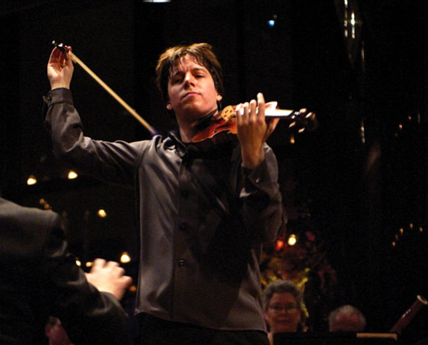 Celebrated violinist Joshua Bell performs in the intimate Stanley H. Kaplan P...
