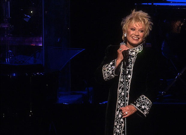 Elaine Paige performs at the State Theatre in Sydney, Australia, during her 4...