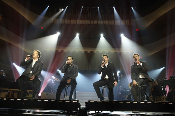 The Canadian Tenors  showcase their eclectic blend of classical and contemporary pop. The gifted young men perform at the Royal Conservatory in Toronto, Canada.