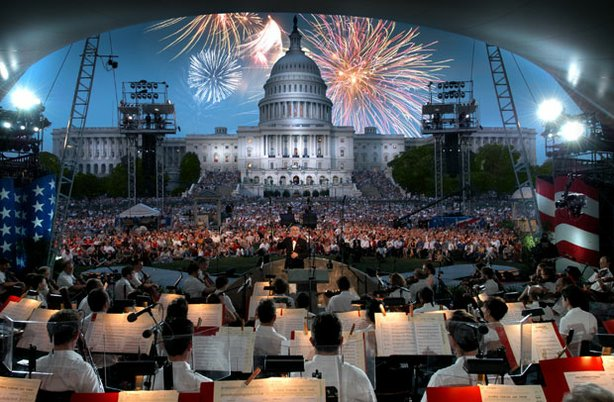 "The renowned National Symphony Orchestra performs at the nation's biggest birthday party, ""A Capitol Fourth,"" airing live from the West Lawn of the U.S. Capitol."