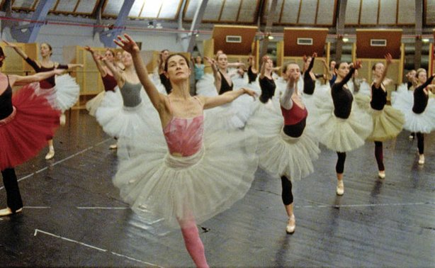 "Members of the Paris Opera Ballet rehearse ""The Nutcracker."""