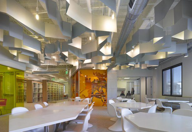 Fashion Institute of Design & Merchandising, San Diego Campus. Designed by Clive Wilkinson architects.