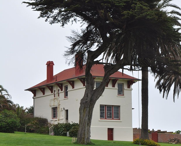 Built in 1913 - for the lighthouse keeper and assistant keeper - now used for...