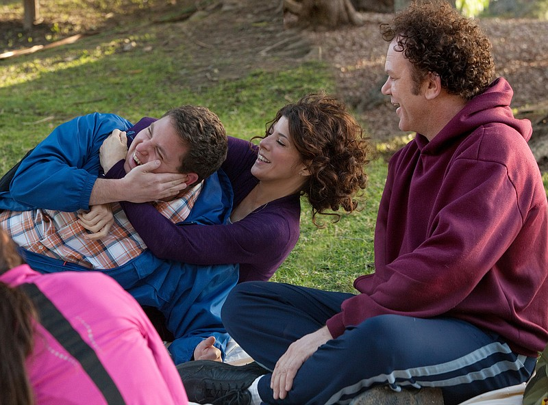 Jonah Hill, Marisa Tomei, and John C. Reilly form an odd family in