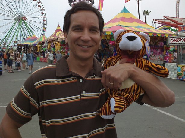 Filmmaker Noah Tafolla wins a prize at the San Diego County Fair.
