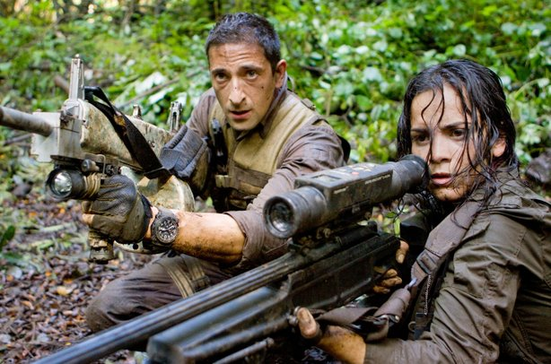 "Adrien Brody and Alice Braga find themselves hunted in ""Predators"""