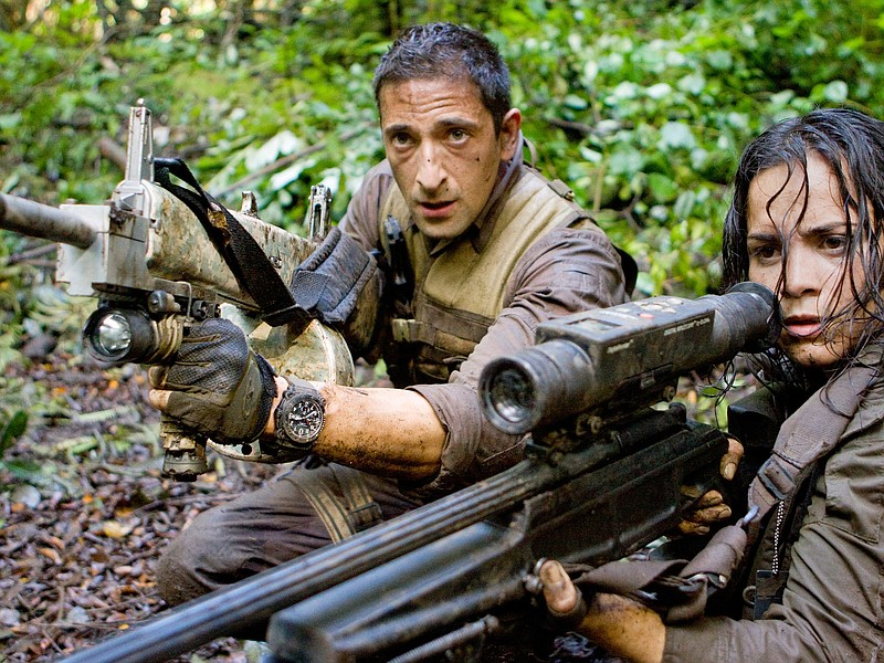 Adrien Brody and Alice Braga find themselves hunted in