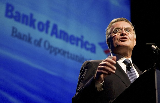 Bank of America Chief Executive Officer Kenneth Lewis speaks on the changing ...