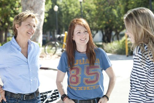 "Annette Bening and Julianne Moore star as a lesbian couple in ""The Kids Are A..."