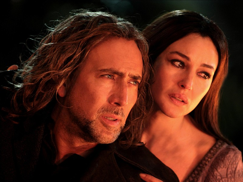 Nicolas Cage and Monica Bellucci share a love over the centuries in