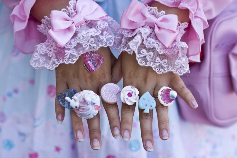 The accessories are very important to the Lolita style. Fads and trends come ...