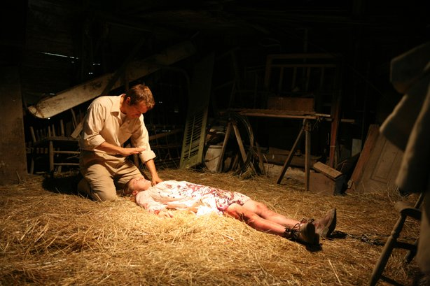 "Eli Roth produces the new horror film, ""The Last Exorcism."""