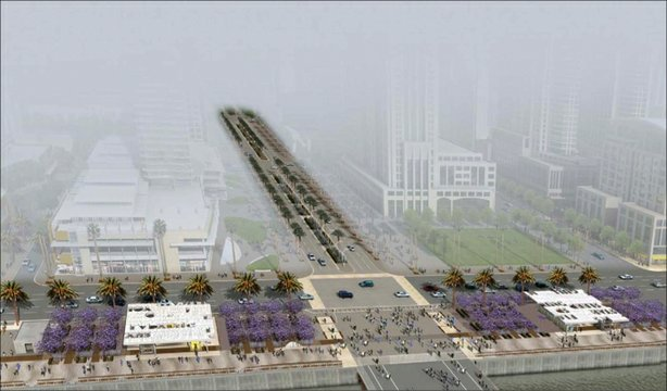 North Embarcadero Visionary Plan Concept Drawing