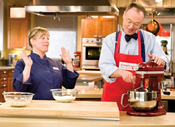 Cook Julia Collin Davison and host Christopher Kimball explore delicious reci...